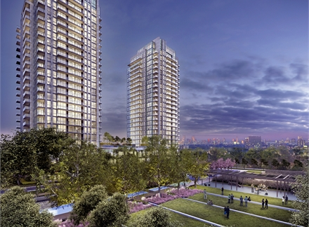 Primary photo of Park Towers Condominiums at IQ