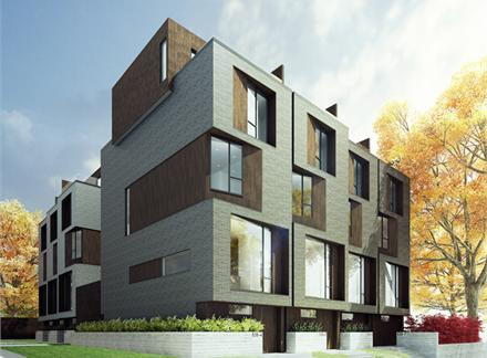 core modern homes is a new townhouse development by mazenga currently