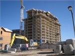 Construction photo of Eden Park Towers Phase 1