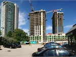 Construction photo of One Sherway Final Tower