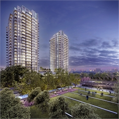 Primary Picture of Park Towers Condominiums at IQ