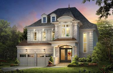 Fernbrook model homes