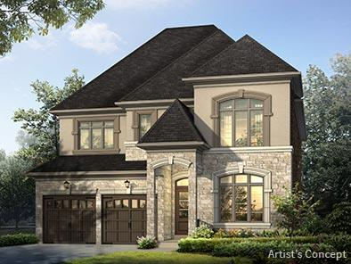 Vales of humber model homes