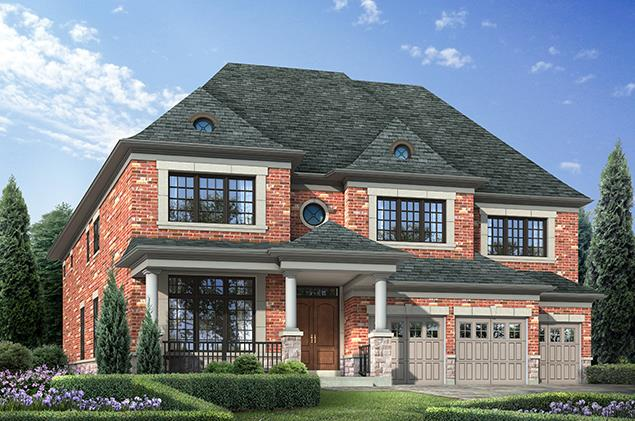 Thornhill model homes