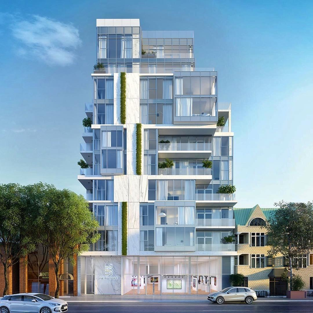 346 Davenport in Toronto, ON | New Homes, Plans, Units, Prices