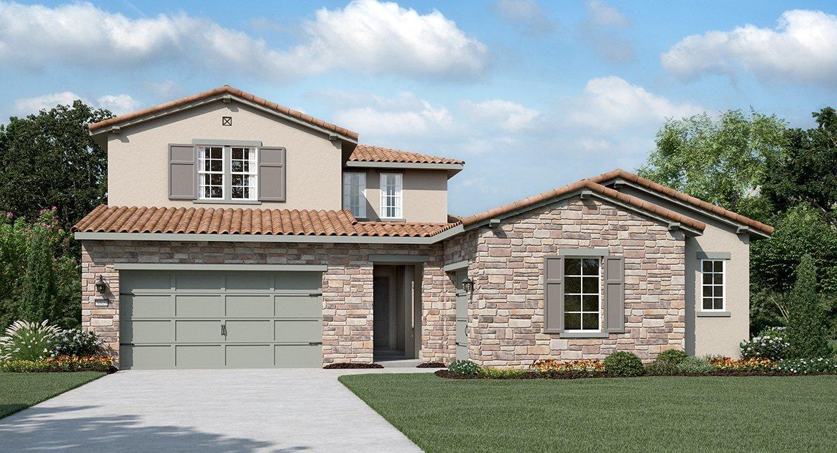 Cypress At Serrano In El Dorado Hills Ca New Homes Plans Units