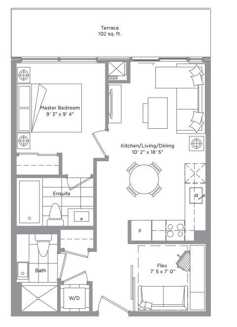 Floor plan of PH 2