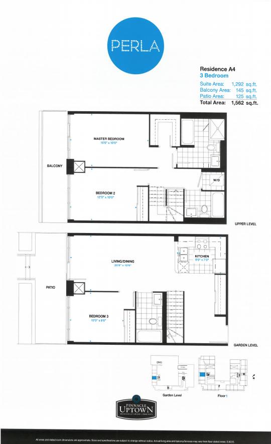 Floor plan of A4