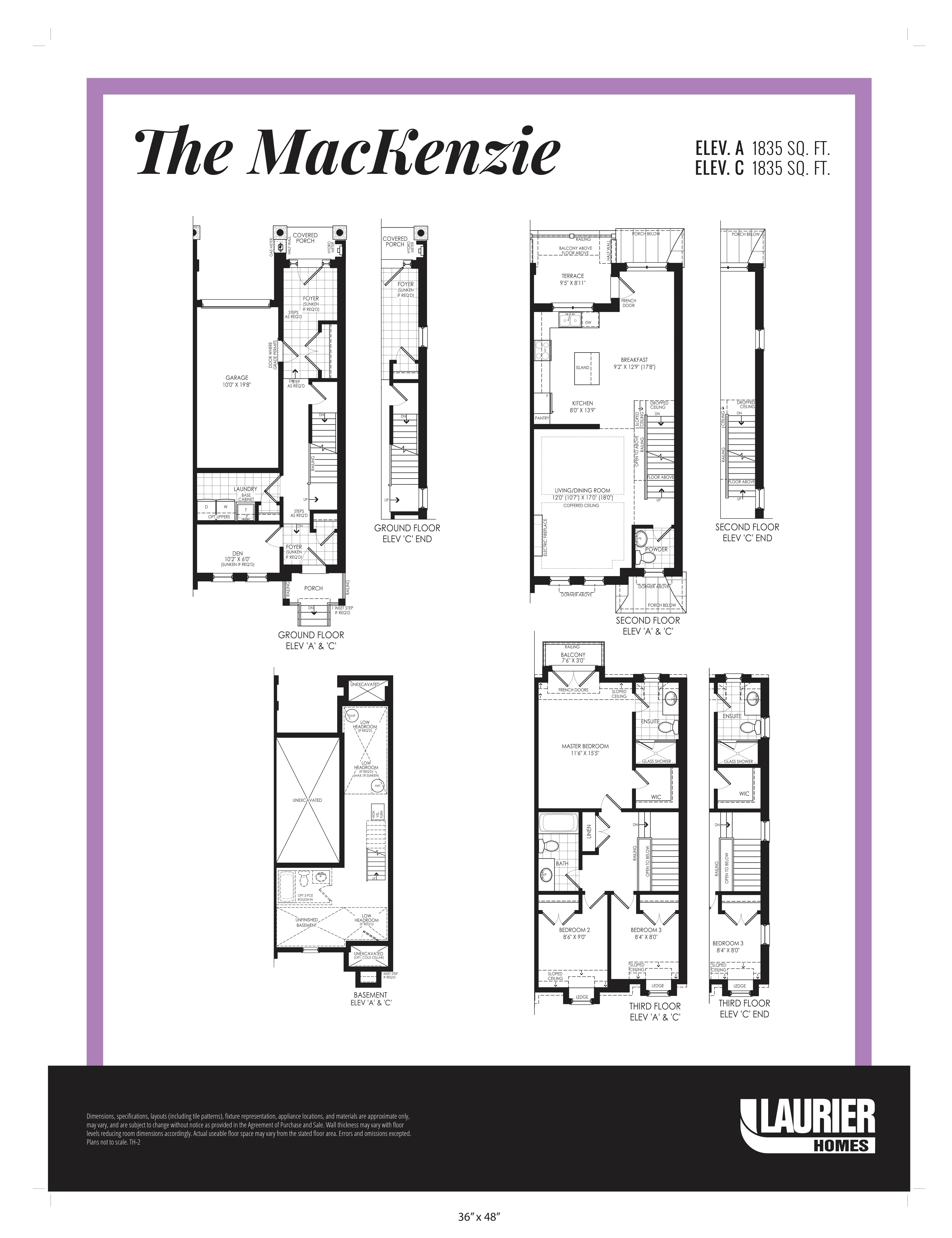 Floor plan of The Mackenzie