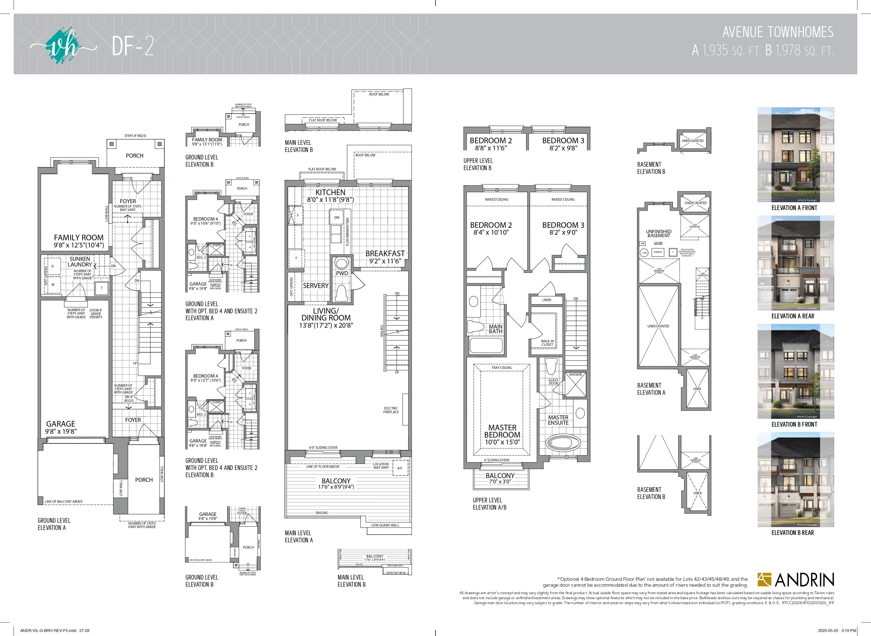 Floor plan of DF-2