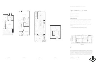 7430 - 7488 GRANVILLE in Vancouver, BC | Prices, Plans ... Ziggy S Granville House Plan Cost on