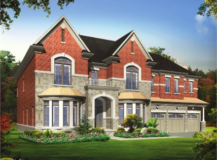 Hilltop estates richmond hill by democrat homes richmond for Richmond hill home builders