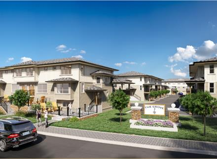 The Grove Townhomes Plans Prices Availability