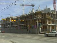 Construction photo of Paintbox Condominiums