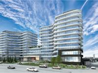 Exterior photo of Flaire Condos