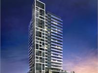 Exterior photo of Rise Condominiums