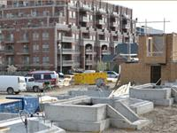 Construction photo of The Burkebrook - Town Manors at Kilgour Estate