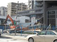 Construction photo of The Yorkville Condominiums