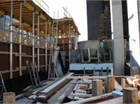 Construction photo of Residences at RCMI on University