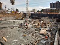 Construction photo of West Village Etobicoke