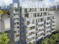 Exterior photo of The Perry Condos