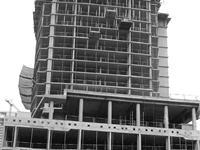 Construction photo of Cinema Tower
