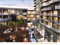 Exterior photo of Canary District Condos