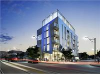 Exterior photo of Origami Lofts