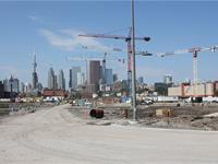 Construction photo of Canary District Condos