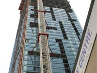 Construction photo of The L Tower