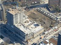 Construction photo of One Park Place Condos