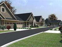 Exterior photo of Village West Bungalow Townhomes