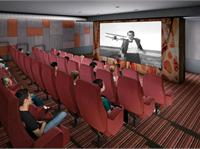 Interior photo of Cinema Tower