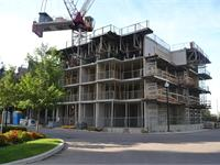 Construction photo of Vivid Condominiums
