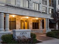 Exterior photo of The Opus