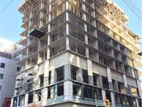 Construction photo of Peter Street Condominiums