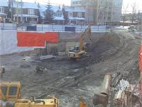 Construction photo of Howard Park: Residences In Roncesvalles Village