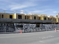 Construction photo of SAVOY