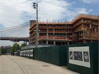 Construction photo of Pierhouse at Brooklyn Bridge Park