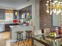 Interior photo of Mosaic District Townhomes by EYA
