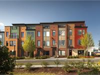 Exterior photo of Mosaic District Townhomes by EYA
