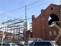 Construction photo of Arch Lofts