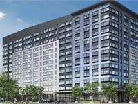 Exterior photo of 3 Journal Square Apartments