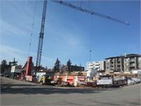 Construction photo of GLAS in Marda Loop