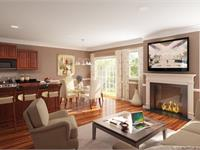 Interior photo of Snowden Bridge Summit Townhomes