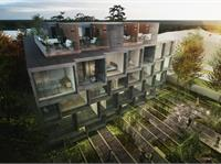 Exterior photo of The Tree House Townhomes