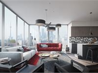 Interior photo of East United Condos