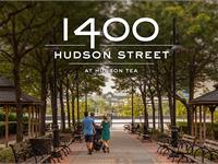 Exterior photo of 1400 Hudson Street at Hudson Tea