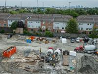 Construction photo of Humber Mews