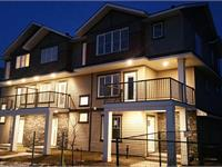 Exterior photo of Cy Becker ALTIUS Townhomes